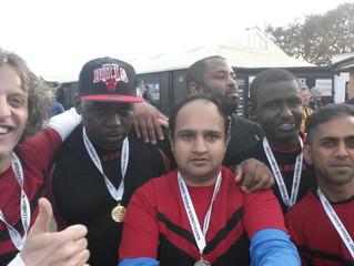 INUF Wanderers Win Gold!