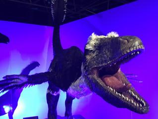 INUF Members Meet Wild Dinosaurs!