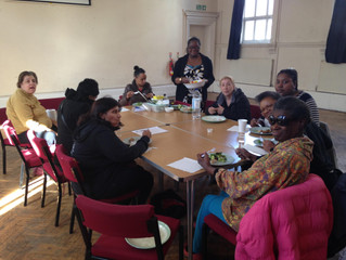 Horizon Women's Group Learn about Healthy Eating