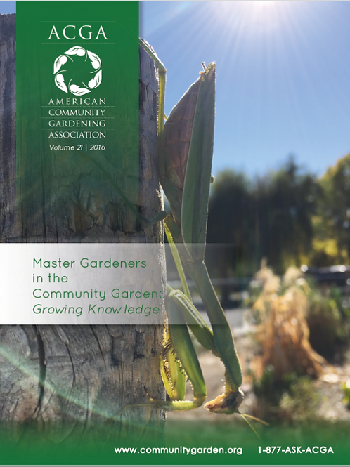Community Greening Review 2016 (eBook)