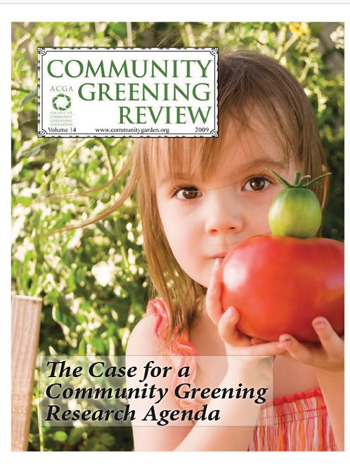 Community Greening Review 2009 (eBook)