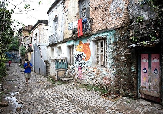 A vila em 2011. Fonte Folha de São Paulo