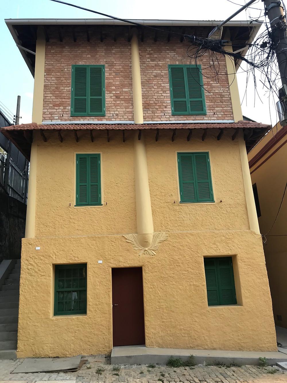 Casas restauradas. Acervo pessoal.