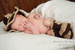 cowboy newborn outfit