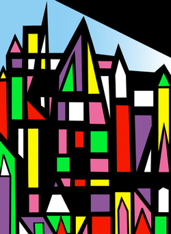 Colorful City II