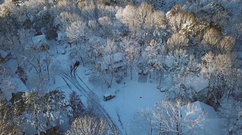 Winter wonderland in Cary, NC
