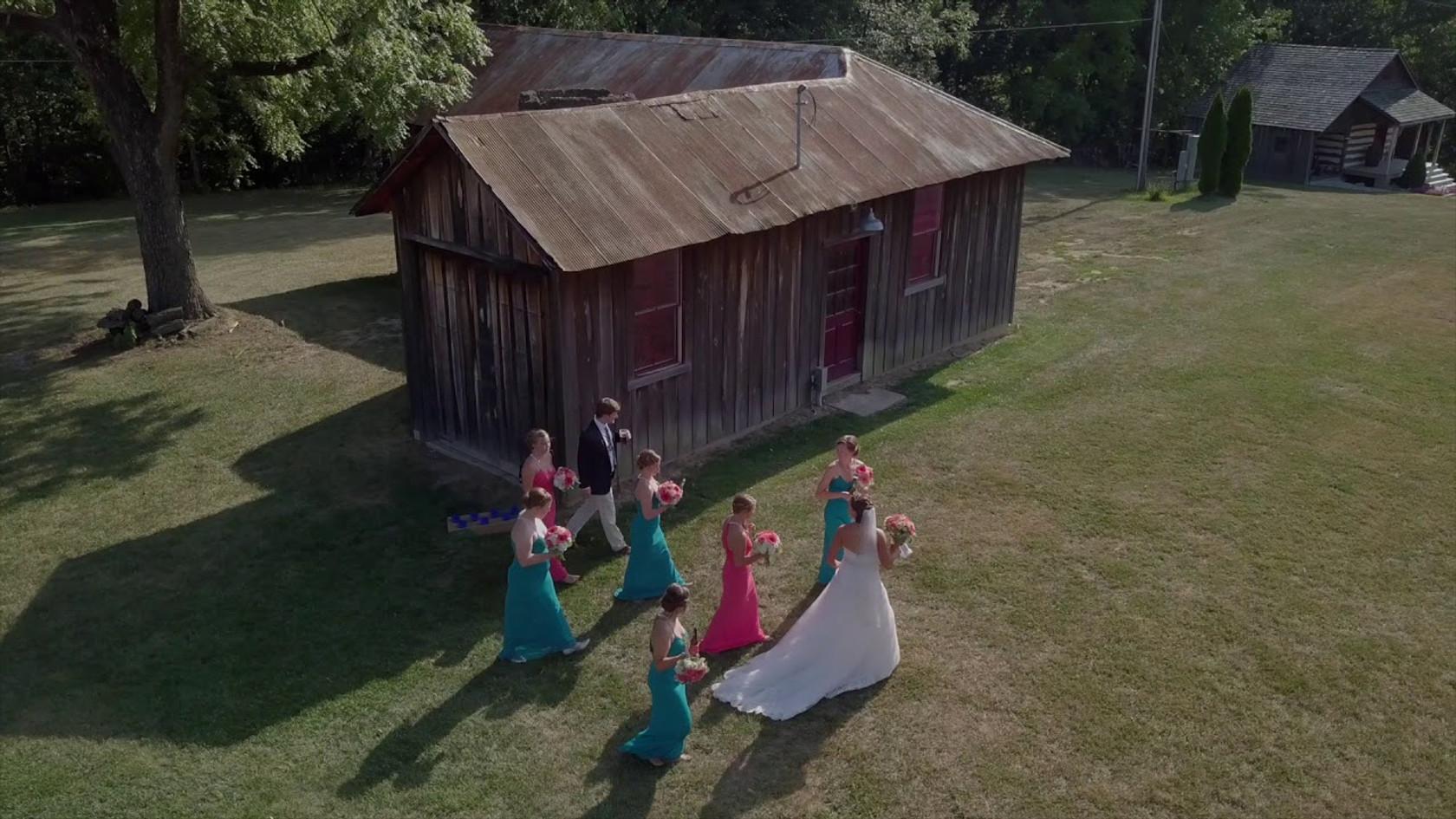 Jessie & Neil: Drone footage