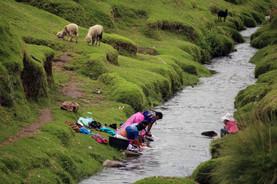 Laundry day in Nimasac, Guatelmala.