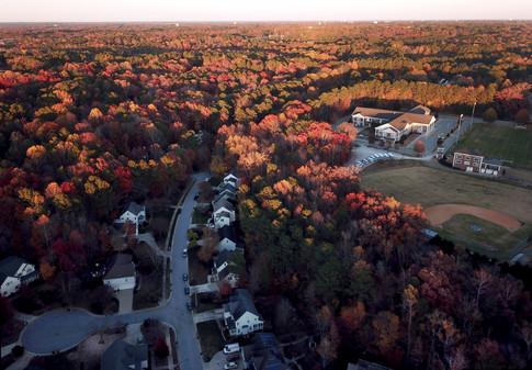 Fall's splendor in Cary, NC