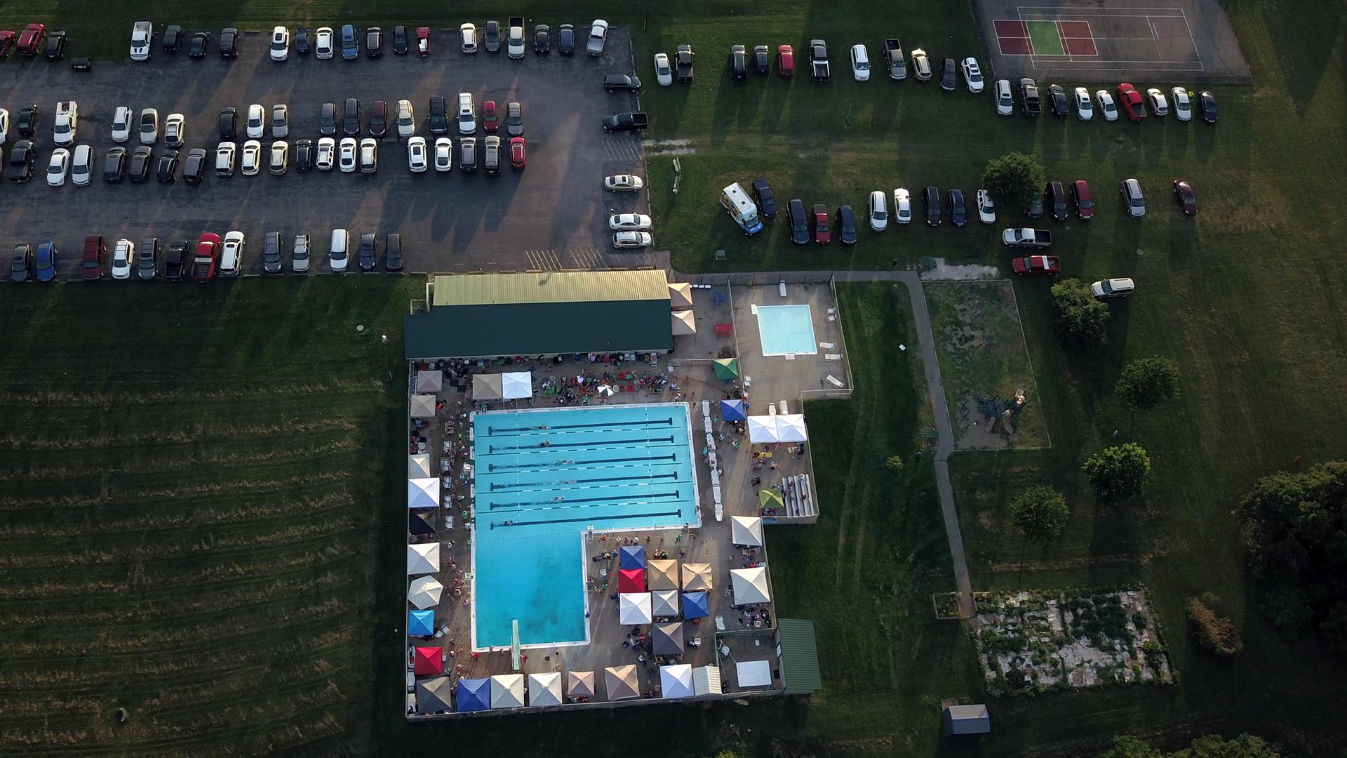 Summer swim meet