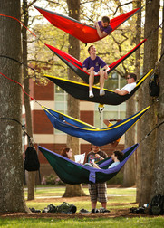 Hanging out at East Carolina University in Greenville, NC.