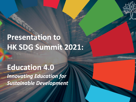 Time for HK SDG Summit 2021