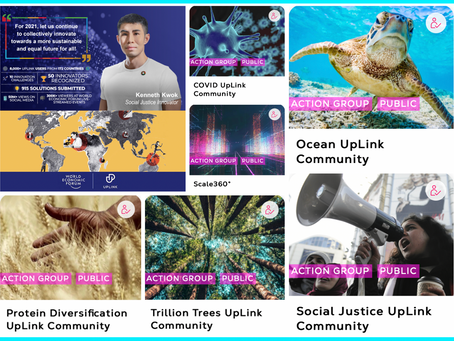 World Economic Forum's UpLink Community