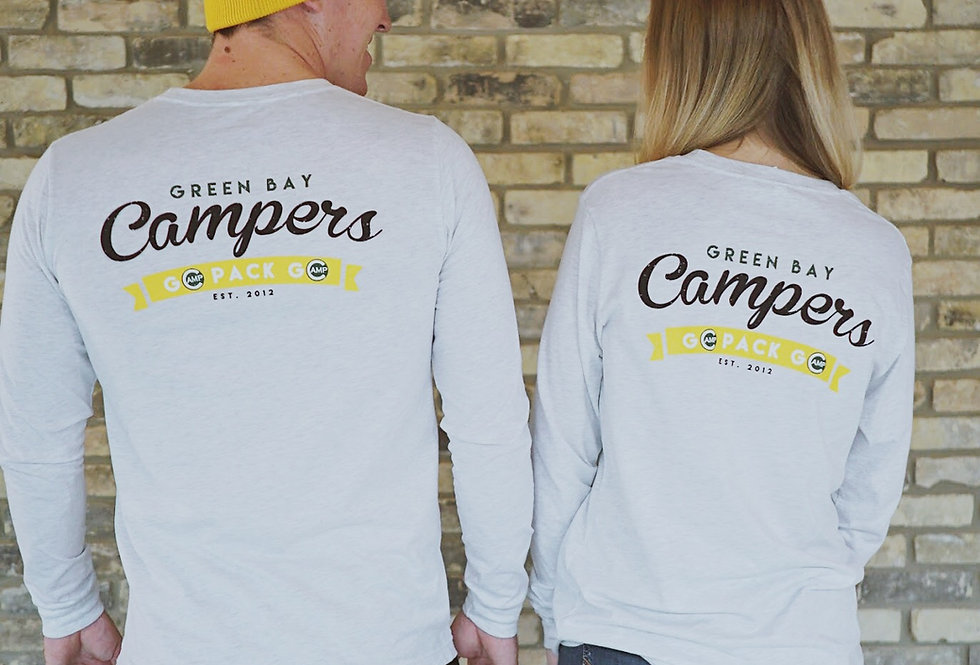Green Bay Campers Long Sleeve Tee