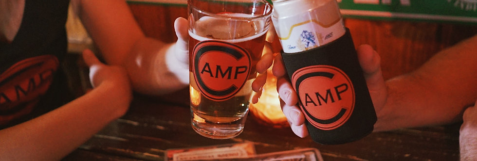 Camp Pint Glass (PICKUP ONLY)