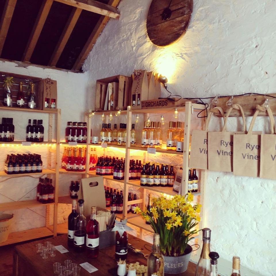Ryedale Vineyards Yorkshire Wine tasting room