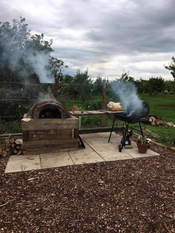 Pizza oven, Summer 2017