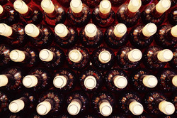 Winery Bottles Red