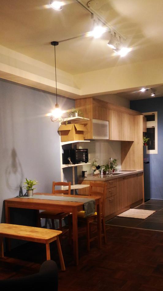 客廳+廚房