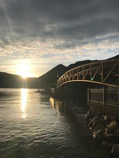 """""""Sunset on the Bridge"""""""