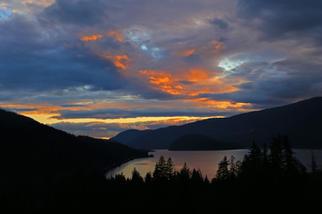 Mara Lake Sunset Nov 21