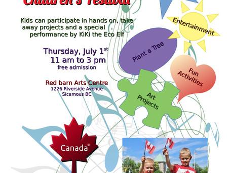 Children's Canada Day Festival