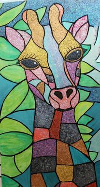 Giraffe 2'x4'