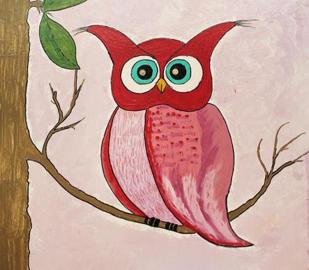 Owl on a Tree      2'x2'