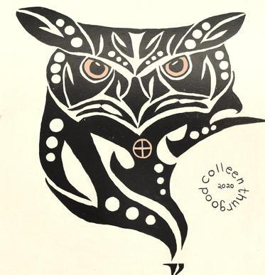 Owl      2'x2'