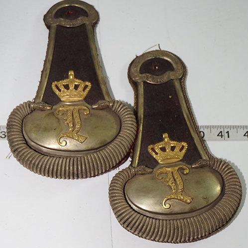 Mid 1800s British Army Epaulettes Set