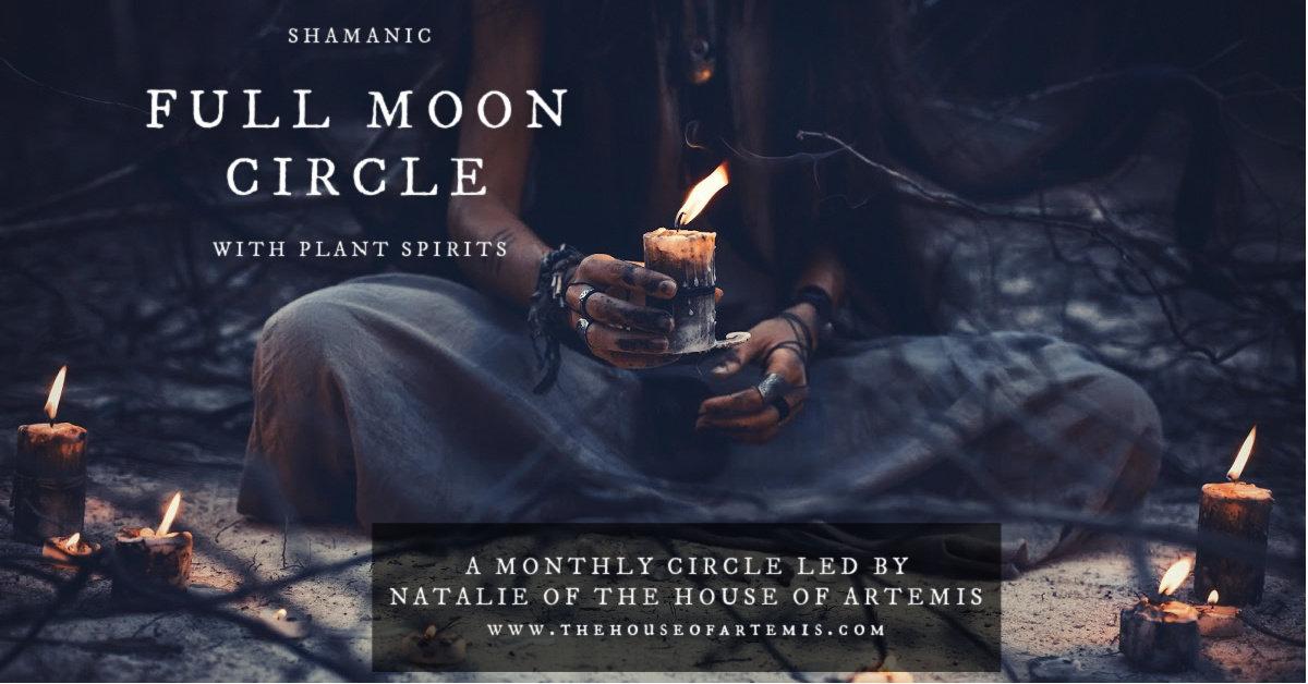 Shamanic Full Moon Circle