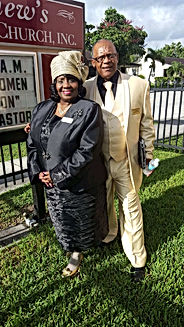 Bishop Paul and Mother Berneice Moss
