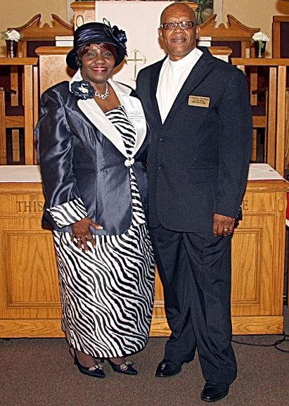 Bishop Paul Moss and 1st lady Bernice MOss