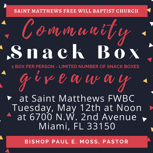 2020 Snack Giveaway
