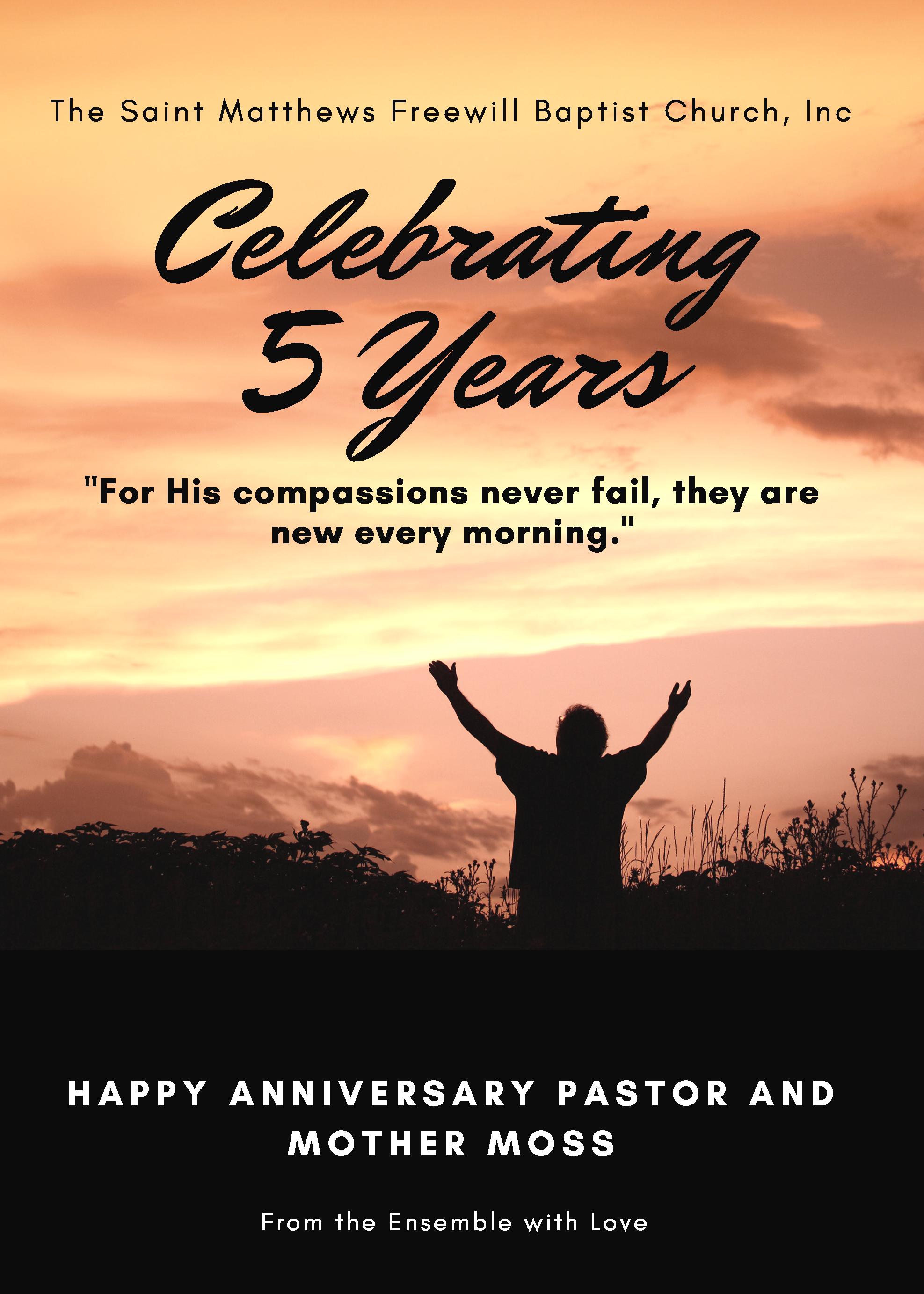 Congratulation - 5th Anniversary