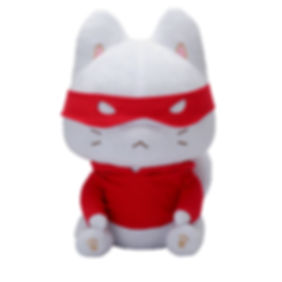 Catnip Bravo Frown Plush