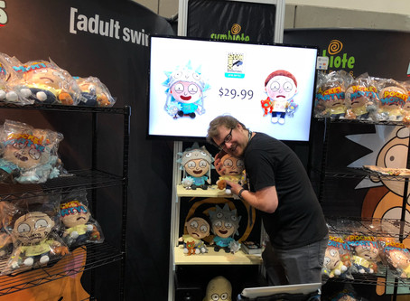 SDCC Justin Roiland