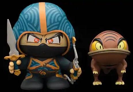 Fighter's Guild Journeyman in Akaviri Armor Figure