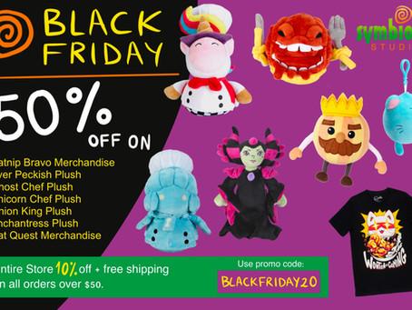 Black Friday Sale is on!