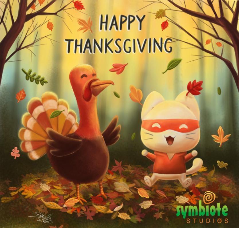 Catnip Bravo Happy Thanksgiving