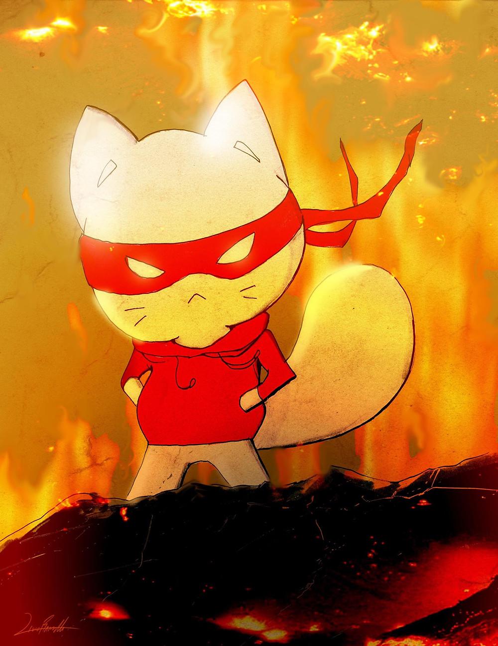 Catnip Bravo burning up the tournament