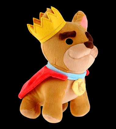 Overcooked King Kevin plush