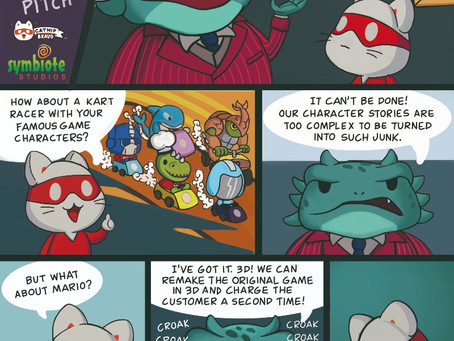 Toad Hornace and the Game Pitch