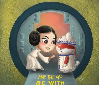 May the 4th be with you.