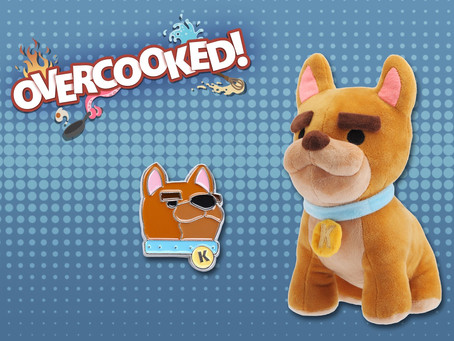 Overcooked! Kevin Plush