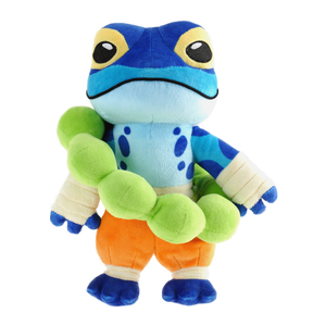 Ranno plush from Rivals of Aether