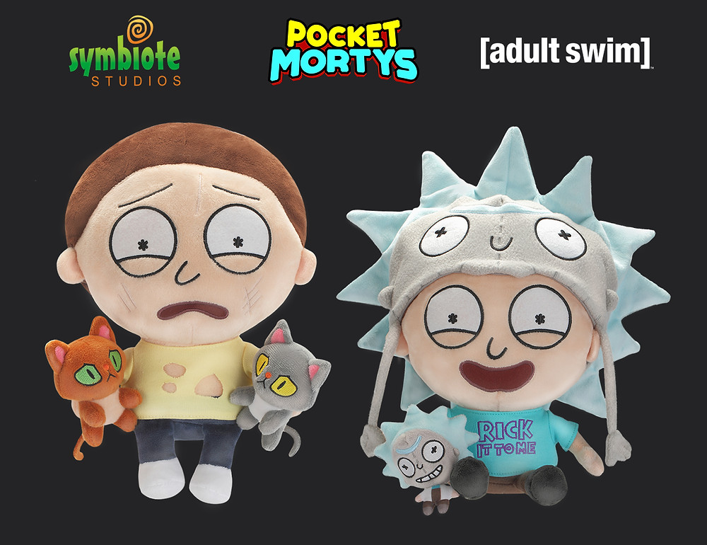 Rick and Morty SDCC Plush