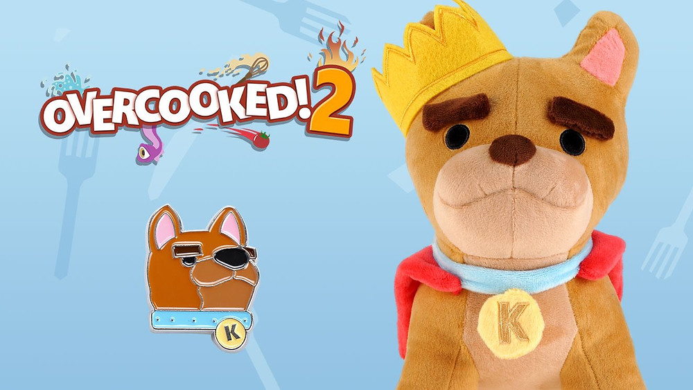 Overcooked 2 King Kevin Plush