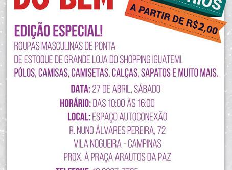 Bazar do Bem 27/04