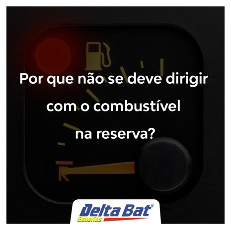 Por que não dirigir com combustível na reserva?